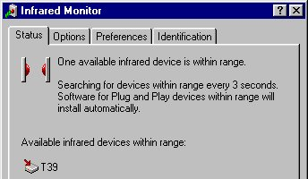 Windows Infrared Monitor